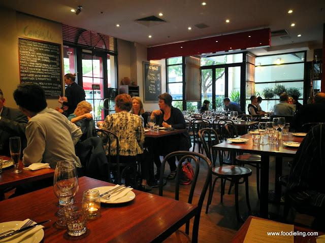 Italian Restaurant Frome St Adelaide