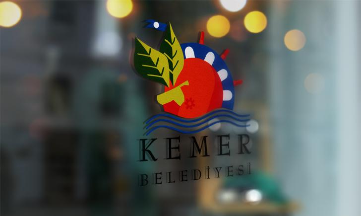 Antalya Kemer Belediyesi Vektörel Logosu