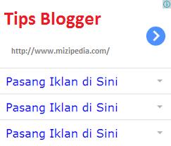Tips Cara Mudah Membuat Iklan Mirip AdSense Blogger