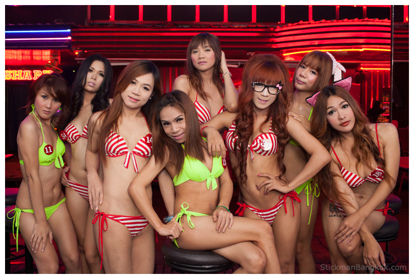 why are there so many thai ladyboys
