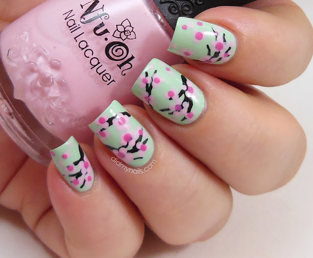 Did My Nails: Cherry Blossom Nail Art Tutorial