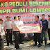 Polres Bangkalan Berhasil Kumpulkan 227 Juta Untuk Korban Lombok