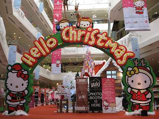 Dekorasi Natal Di Mall