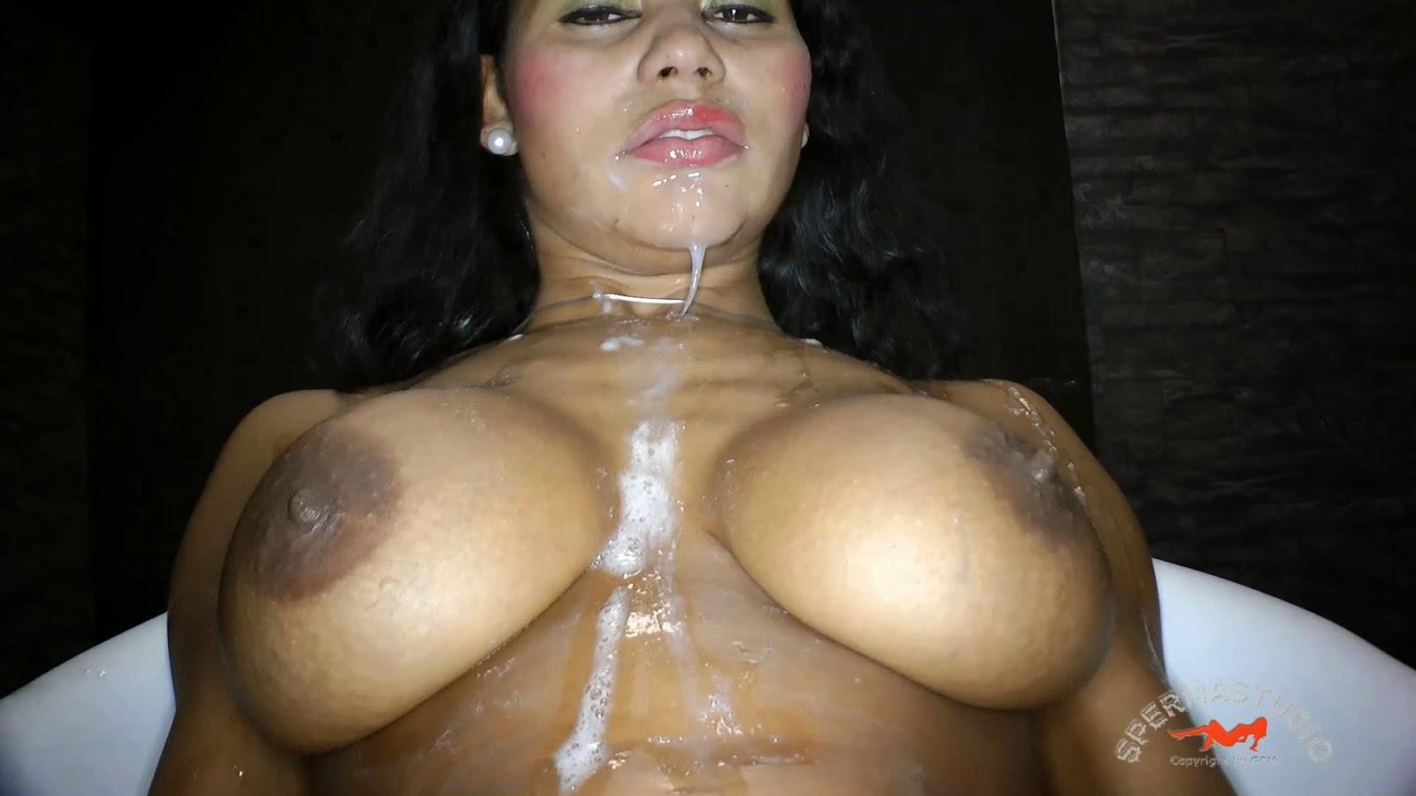 kinky slave sperm studio tekohas in a bukkake creampie gb