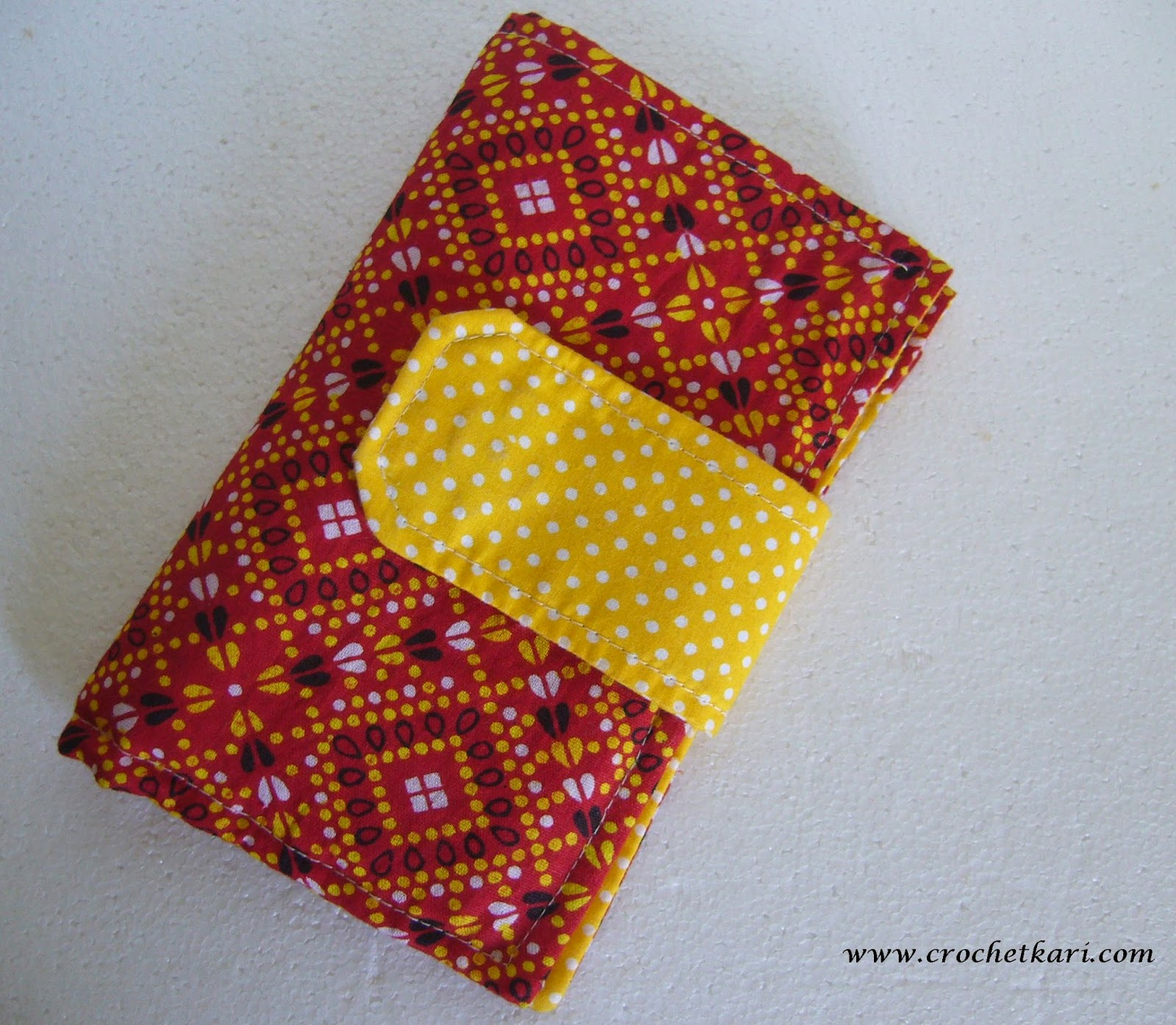 Sewing crochet hook case