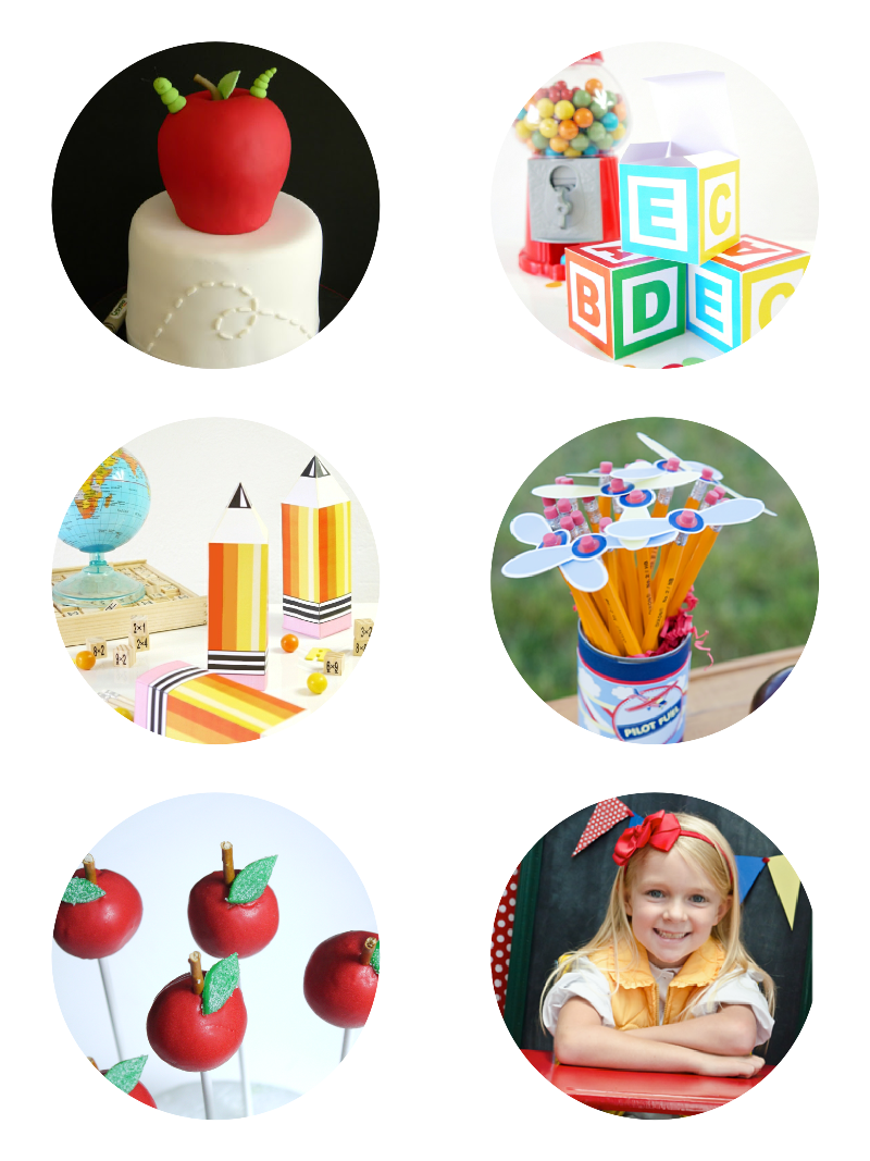 Our Cutest DIY Back to School Party Ideas - BirdsParty.com