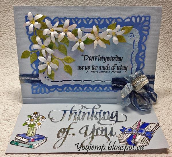 http://yogiemp.com/HP_cards/MiscChallenges/MiscChallenges2018/MCJan18_EaselJasmine_ECDThinkingOfYou_Don'tLetYesterday.html