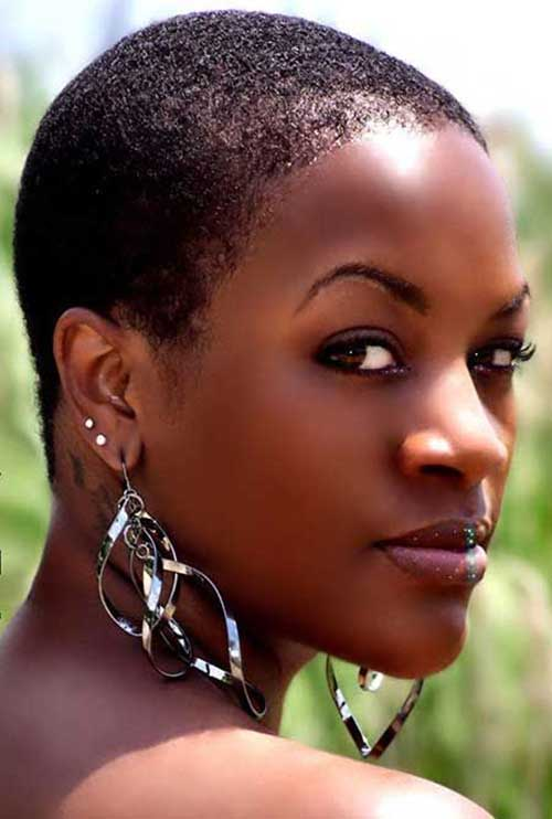 Short Natural Hairstyle For Black Women Newfashionhairstyles All