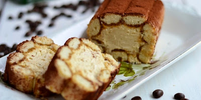 Okrugli Tiramisu - krem od maskarpone sira i kafe