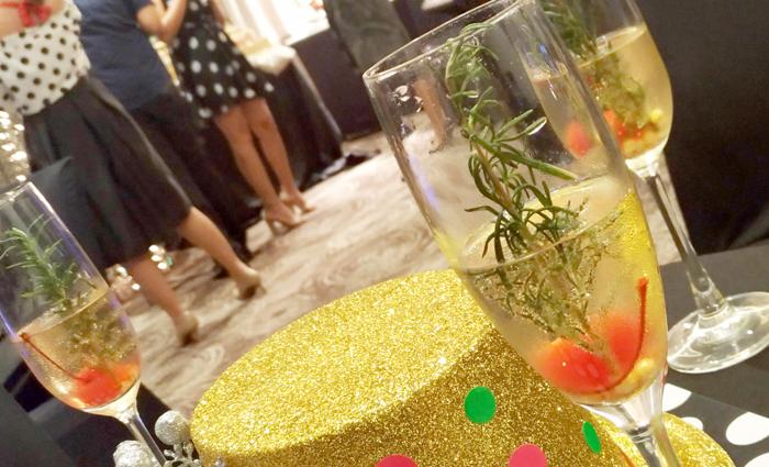 Seda Abreeza's Yuletide drink, The Mistletoe