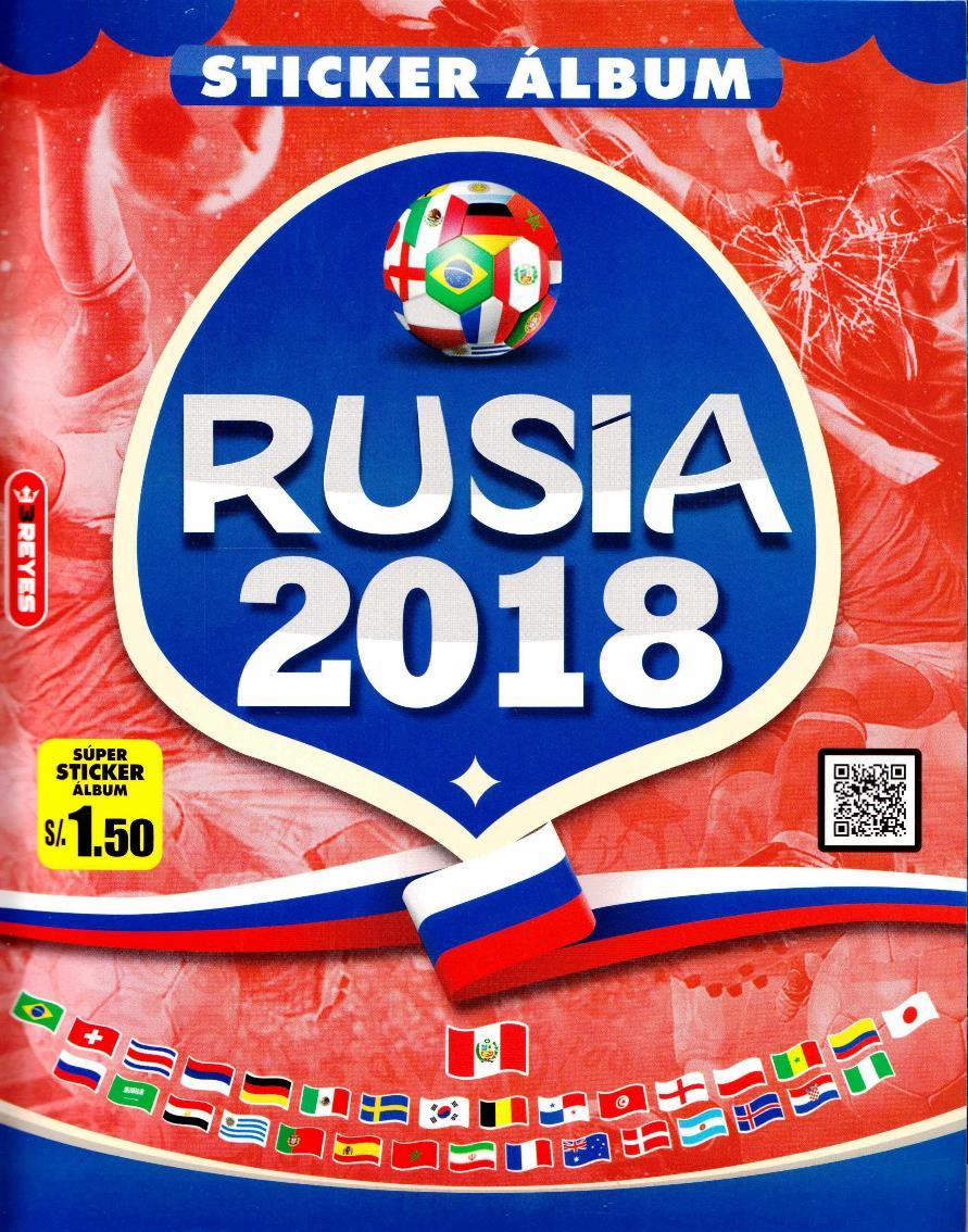 Álbum Copa del Mundo Rusia 2018 – 3 Reyes [RARE]