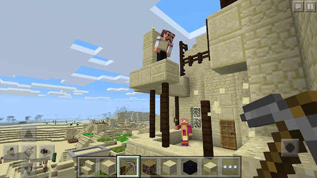 Minecraft Pocket Edition MOD APK 0.16.1.0 Costumes and Textures Unlocked