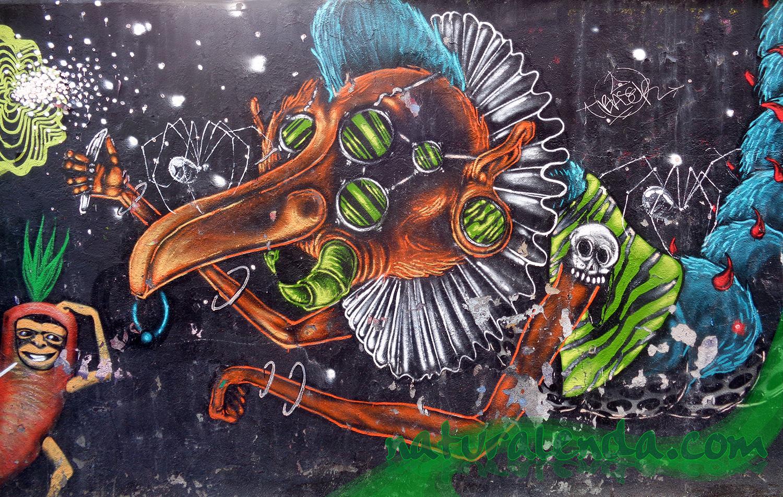 grafitti del solar Antonio Grilo