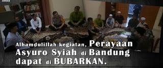 Alhamdulillah Kegiatan Perayaan Asyuro Syiah di Bandung dapat di BUBARKAN