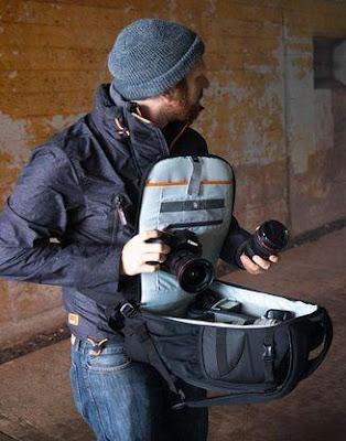 Tas Lowepro Flipside, Jenis Backpack dengan akses kompartemen kamera dari belakang