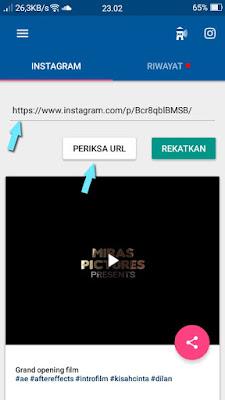 Cara Mendownload Video Instagram Menggunakan Aplikasi