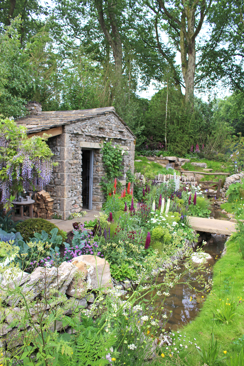 The Welcome to Yorkshire Garden at Chelsea Flower Show 2018 - London lifestyle blog