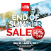 The North Face End Of Summer Sale - Until June 5