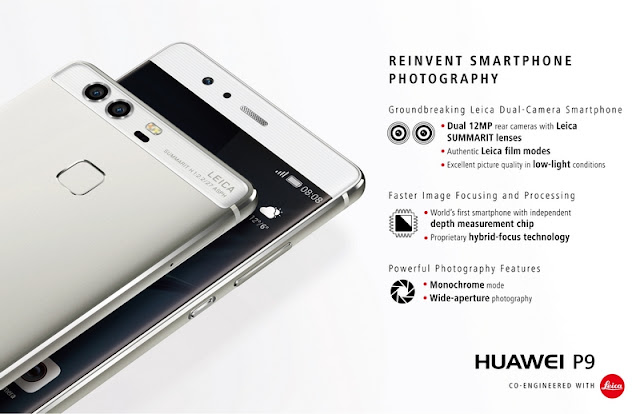 Huawei P9 Launched in the Philippines, Leica Camera in Tow