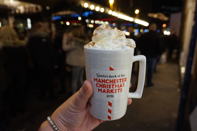 Manchester Christmas markets Italian Coffee