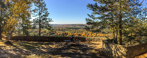View at Wildcat mountain state park