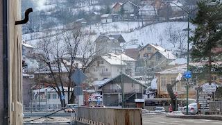 Approaching Sarajevo subburbs