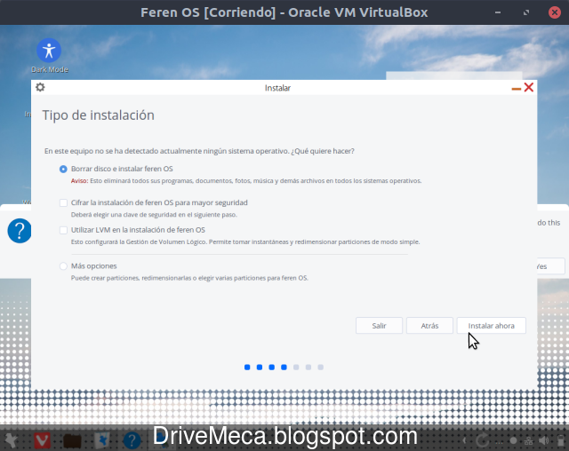 Instalamos feren OS Linux paso a paso