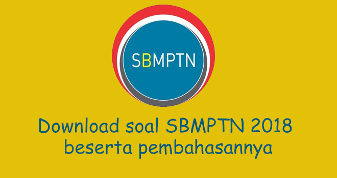 Download Kumpulan Soal Sbmptn 2018 Dengan Pembahasan Agustyar