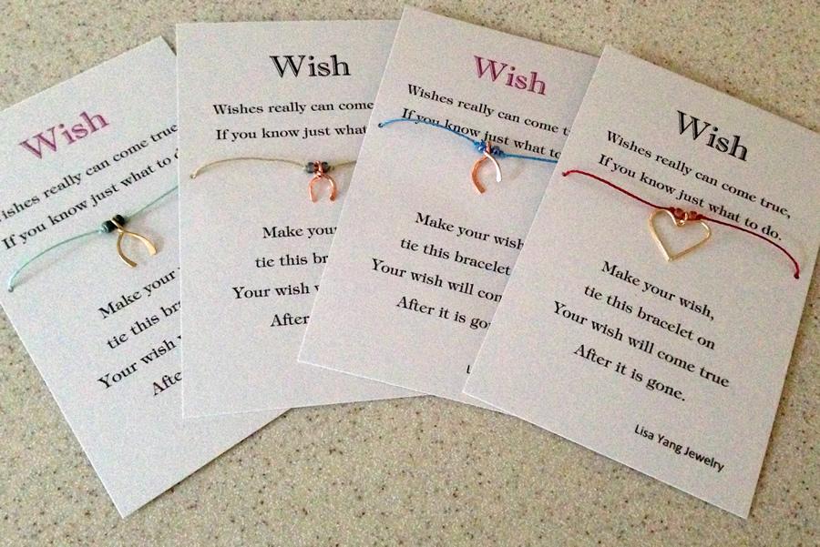 Meilleure vente grande collection qualité et quantité assurées Lisa Yang's Jewelry Blog: Wish Bracelet Charms, Card and ...