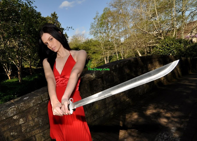 Girl with Sword Photo Collection