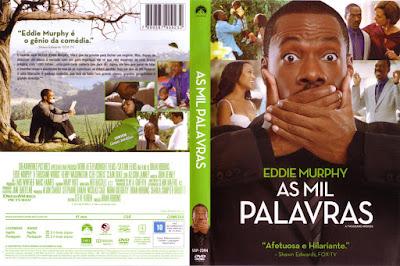 Filme As Mil Palavras (A Thousand Words) DVD Capa