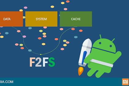 Merubah Sistem Partisi EXT4 ke F2FS xiaomi Tanpa Kehilangan Data