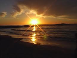 صورة انعكاس غروب الشمس 8