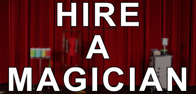 HIRE A MAGICIAN - The Ace of Magic