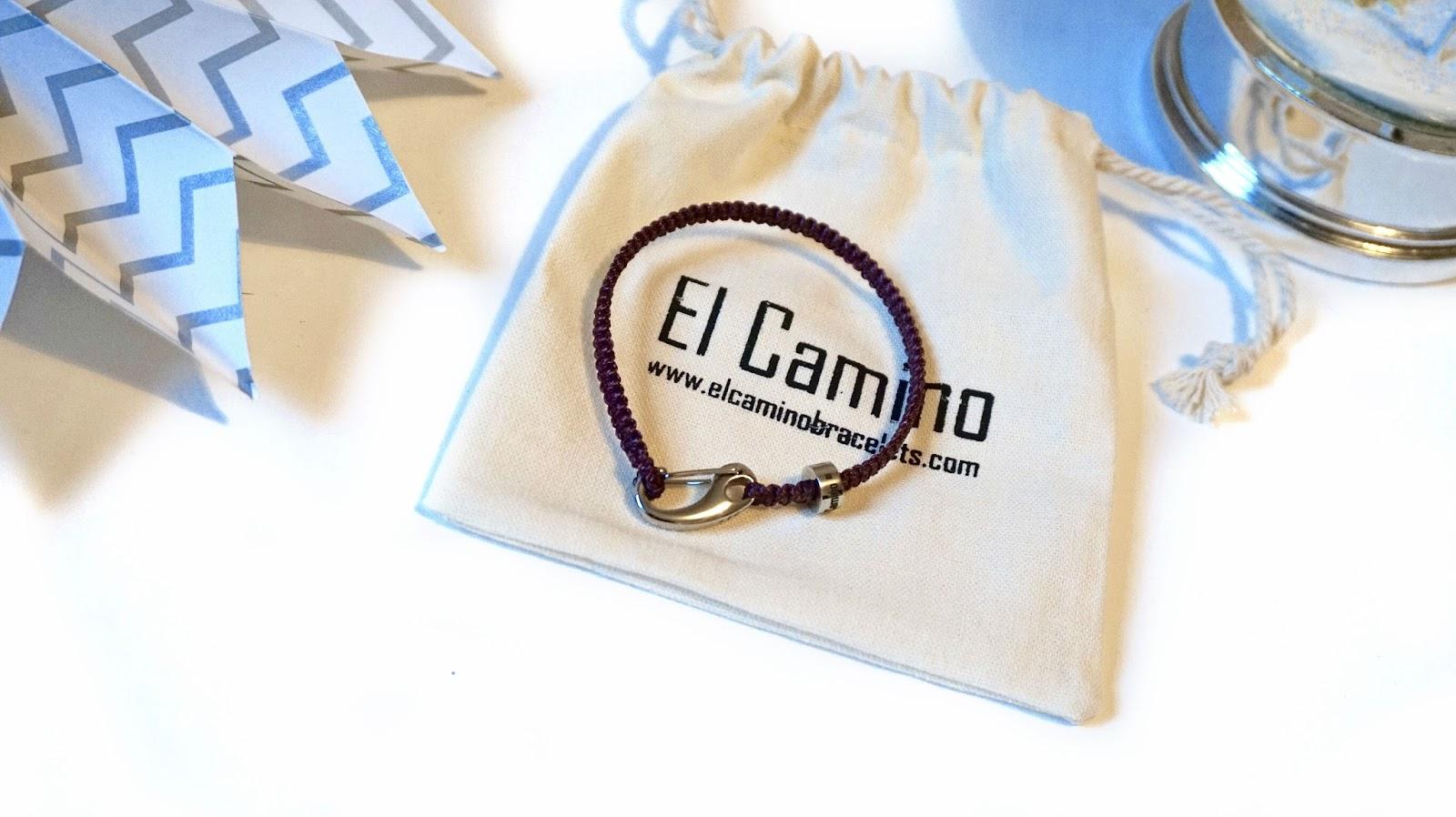 El Camino travel charm bracelets
