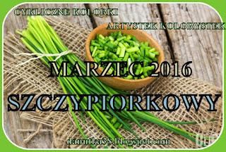CYKLICZNE KOLORKI -MARZEC 2016