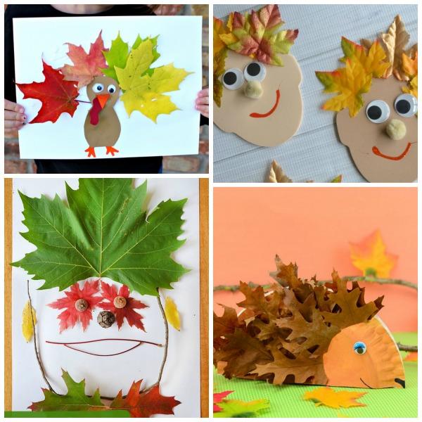 50 AMAZING LEAF CRAFTS FOR KIDS #fallleafcrafts #fallcrafts #thingstodowithleaves #fallcraftsforkidspreschool