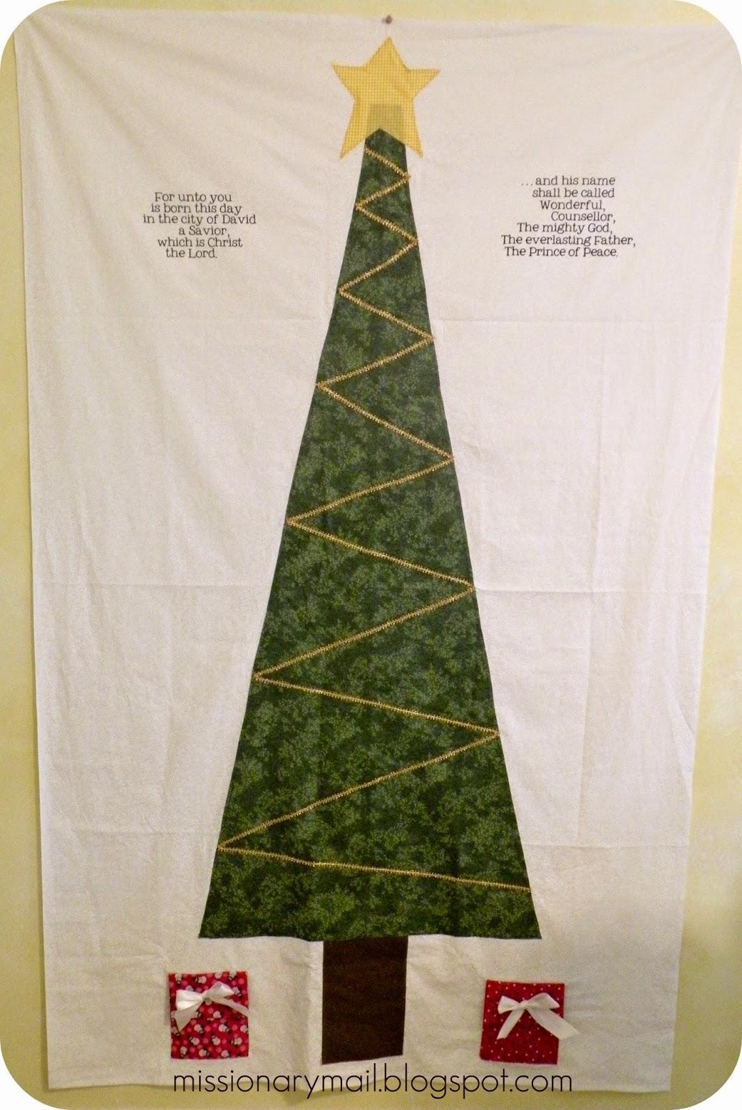 Missionary Mail O Christmas Tree O Christmas Tree