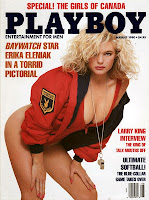 Gifts for men, Presents for men, Christmas presents for men, birthday presents for men, Christmas gifts for men, birthday gifts for men, Playboy, vintage Playboy covers, Playboy magazine covers, Erika Eleniak, Baywatch,