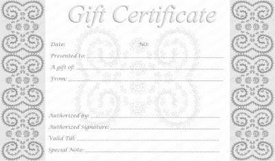 Printable Christmas Certificate Templates Fgaty