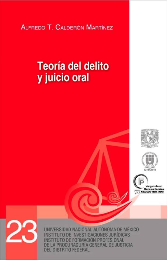 Teoría del delito y juicio oral