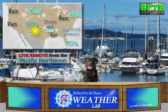 BFTB Weather Lab Paisley; live from the Pacific Northwest