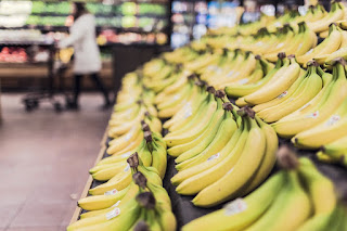 Image: Bananas at the Supermarket, by StockSnap