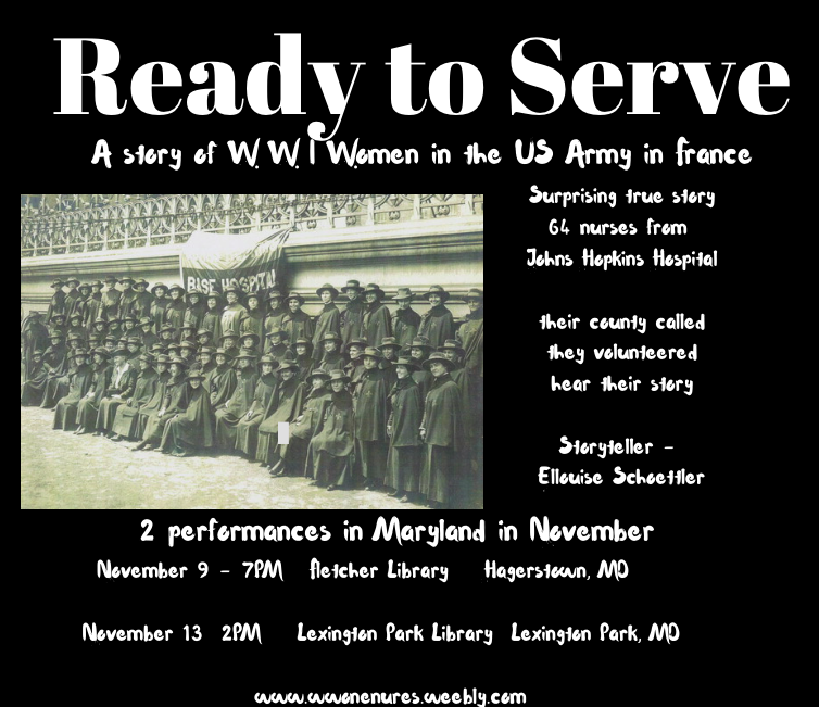 Armed Ready To Serve: Ellouisestory: Ready To Serve Goes On The Road