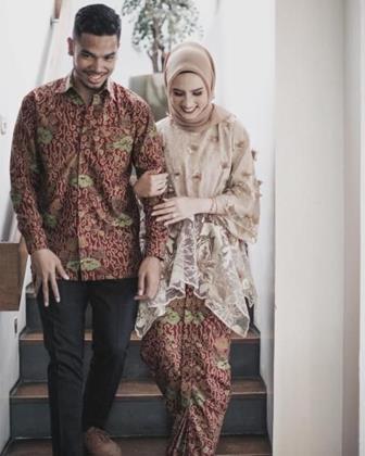 Model Baju Batik Couple Serasi Dengan Pasangan