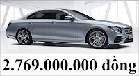 Giá xe Mercedes E300 AMG 2018
