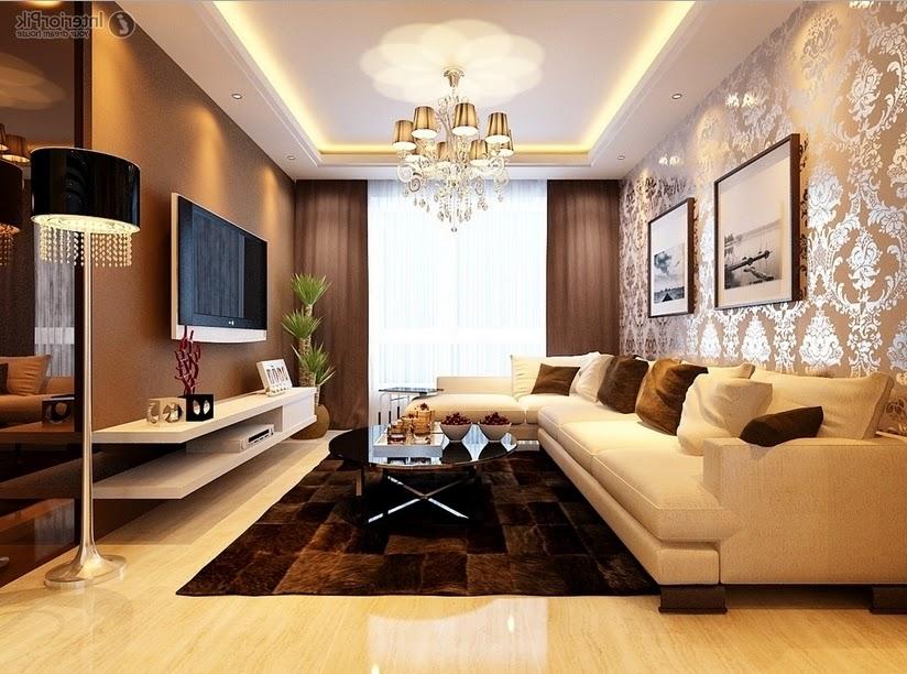 Ruang Keluarga Berdesain Klasik Minimalis Referensi Rumah