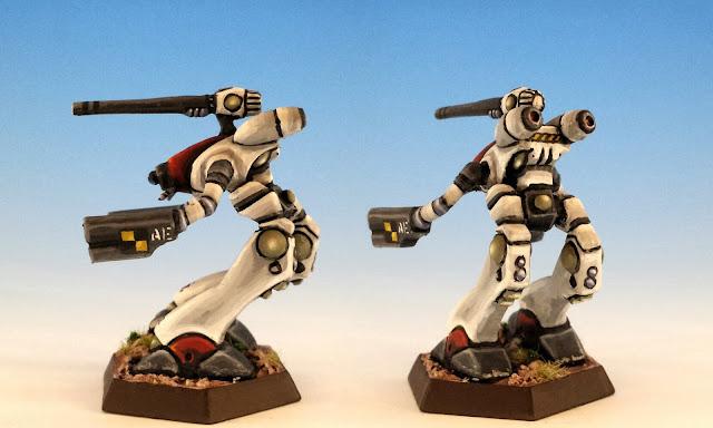 MAD-3R Marauder Painted Unseen Miniature Battletech