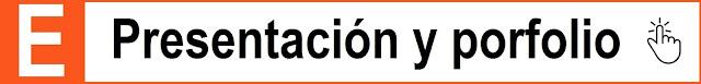 Icono E que invita a visitar la web de mi presentación y porfolio