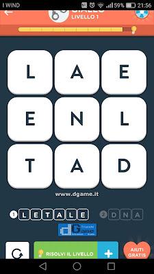 WordBrain 2 soluzioni: Categoria Giallo (3X3) Livello 1